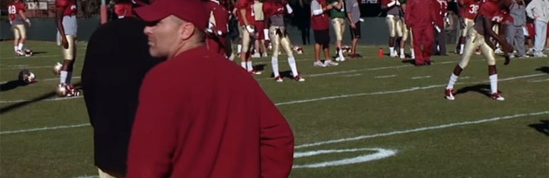Florida State University equipment manager – Darin Kerns