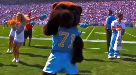 UCLA Spirit Squad performing at athletic events