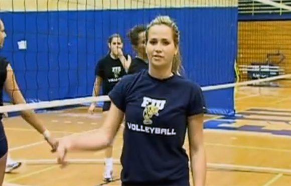 I am FIU celebrating university sports