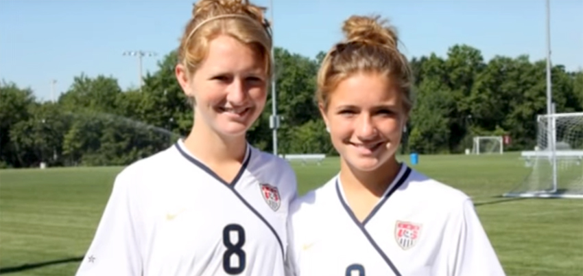 Meet the Mewis sisters - United Sports USA