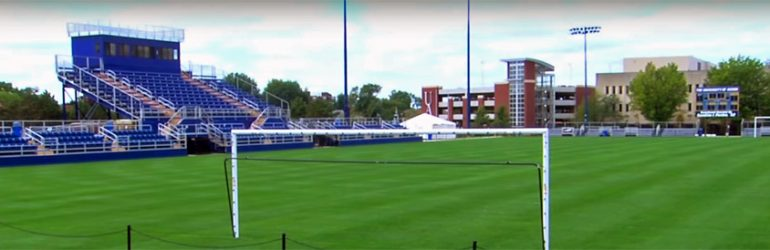 Akron men's soccer facility video guide