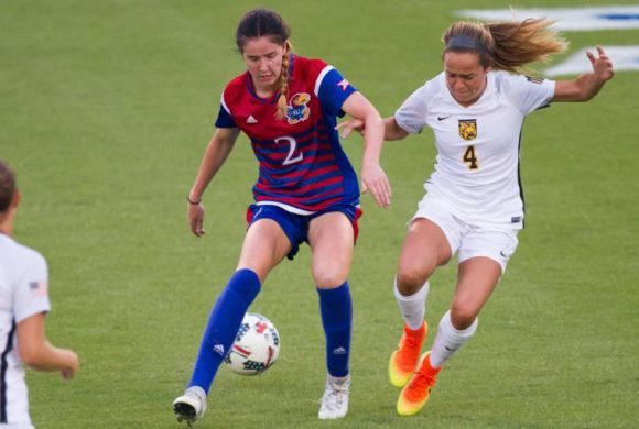 Female soccer star from Scotland reflects on her career at Kansas University
