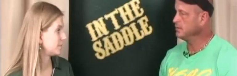 In the saddle – coach Jimmy Hampton